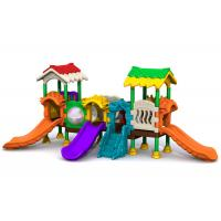 Cheap 1-2 Age Kids Plastic Playground Equipment Smooth Surface Environmental Protection for sale