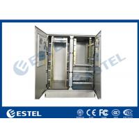 Buy cheap 30U Two Bay Base Station Cabinet Aircon Cooling IP55 For Commmunication from wholesalers