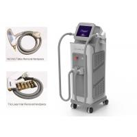 Cheap Vertical 2 In 1 IPL Laser Machine Diode Hair ND Yag Tattoo Removal Laser Machine for sale