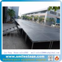 Cheap Non-slip Platform Aluminum Height Adjustable Stages for sale