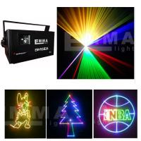 Cheap Stage Laser Lighting 1.5W Full Color Animation RGB Laser ILDA for sale