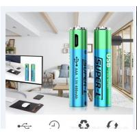 Cheap AAA Rechargeable Lithium Batteries 1.5V 400mAh Capacity Cylinder Shape Durable for sale