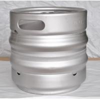 Cheap 15L Draft Beer Keg , Stainless Steel Kegs With Automatic TIG Welding for sale