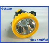 Water proof IP65 cordless miners lamp, underground miners headlamp manufacturer and led mining headlamp Manufactures