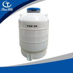 Cheap Tianchi Liquid nitrogen biological container 50BL125mm Liquid nitrogen tank YDS-50B-125 Cryogenic vessel 50L for sale