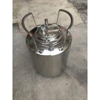 Cheap Durable Home Brew Keg 2.5 Gallon Food Grade Stainless Steel Material for sale