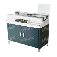 Automatic Glue Soft Cover Book Binding Machine Small Milling Blade Included W5500