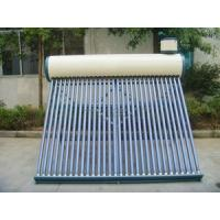 China Solar non-pressurized water heater system on sale