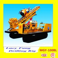 Cheap China MGY-100BL Crawler Rock And Soil Anchor Drilling Rig With Hydraulic Chuck for sale