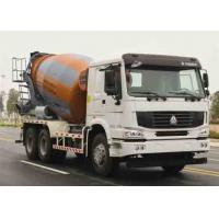Cheap ZOOMLION-HOWO Used Concrete Mixer Truck Euro III Emission 11005x2496x3900mm for sale