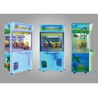 Cheap Coin Operated Toy Arcade Claw Machine / Child Play Claw Machine for sale