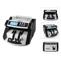Cheap Automatic Multi-Currency Cash Banknote Money Bill Counter Counting Machine LCD Display with UV MG Counterfeit Detector F for sale
