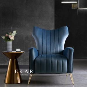 Cheap Metal Base Fashion Design Fabric Living Room Leisure Chair for sale