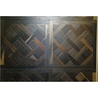 Cheap White Oak versailles engineered parquet tiles with different color stains for sale