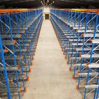 Buy cheap Heavy Duty Industrial Pallet Racks Steel Q235 Material Powder Coated Finish from wholesalers