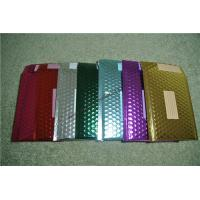 Cheap Recyclable Metallic Glamour Bubble Mailers , Durable Padded CD Mailers 175x165mm for sale