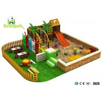 Cheap Sand Land Indoor Soft Playground Equipment For Children 3 - 14 Years Old for sale