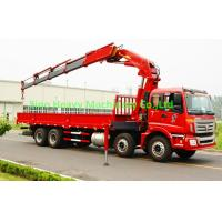 Cheap truck mounted crane SINOTRUK HOWO 6*4 xcmg crane 10tons knuckle boom truck for sale