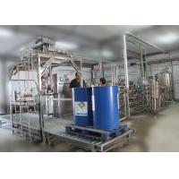 Cheap Mango paste / pulp processing plant SS 304 PET bottle 3 in 1 filling equipment for sale