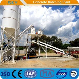 Cheap Environmental Friendly HZS35 35m3/h RMC Batching Plant for sale