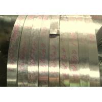 Cheap Custom 508mm CR3 SGCE Hot Dip Galvanized Steel Strip for Constructual Profiles for sale