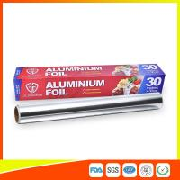 Cheap Customized Kitchen Aluminium Foil Roll Food Grade , Aluminium Wrapping Paper for sale