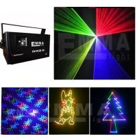 Cheap 1.5w Full Color laser lighting Professional Stage Projector Laser Show Light for sale