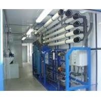 Cheap Waste Water Purifier Plant Machine , SS RO Plant With Portable Diesel Generator for sale