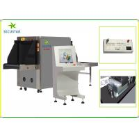 Cheap Dual Energy X Ray Baggage Machine , Airport Security Baggage Scanner Machine for sale