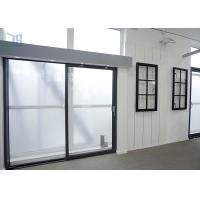 Cheap AS2047 Australia Standard Aluminium Sliding Doors Heat Insulation With Double Glazing Glass for sale