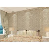 Buy cheap Floral decoration contemporary bedroom wallpaper , Nonwoven modern wallpaper for from wholesalers