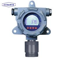 Cheap Fixed wireless RS485 combustible gas detector, more than 1000 meters,LPG CH4 H2 etc for sale
