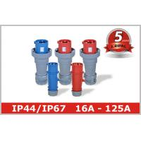 Cheap 3 Pin 4 Pin 5 Pin IEC CEE Male Electrical Receptacle Industrial Plug Outlets for sale