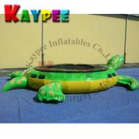 Cheap Inflatable turtle water trampoline,water jumping trampoline,KWT006 for sale