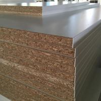 Cheap High Strength Melamine Faced Chipboard , Melamine Chipboard Sheets Quick Delivery for sale