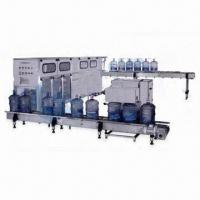 Buy cheap Water Filling Machine for Beverage Machinery, with 4.1kW Input Power from wholesalers