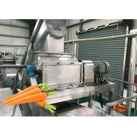 Cheap Energy Saving Carrot Processing Plant Machine High Juice Yield Good Flavor for sale