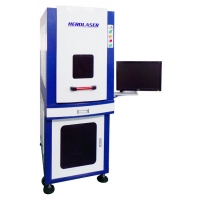 Cheap Industrial High Precision Enclosed 1064nm 10W Laser Engraver for steel for sale