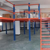 Buy cheap Two Level Storage Shelving Warehouse Mezzanine Systems Customized Height from wholesalers
