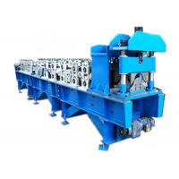 Cheap Steel Ridge Cap Roll Forming Machine , Metal Roofing Roll Former For Construction for sale
