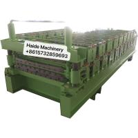 Cheap Wall Panel Metal Roofing Corrugated Tile Making Machine Carbon Building Material 4kw Power for sale