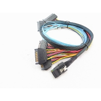 Cheap Internal Serial Attached SCSI 0.5 Meter SAS Splitter Cable for sale