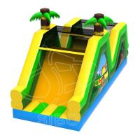 Quality Inflatable Slide With Climbing For Fun Pvc Inflatables For Game Center Ce wholesale