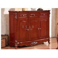 Cheap 3 doors storage 3 drawers antique shoes cabinet shoes racks for sale