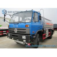 China 170HP 4x2 Transport Oil Chemical Tanker Truck Dong Feng Vehicles on sale