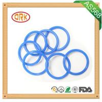 Blue NBR O Ring Rubber Seal Oil Resistance For Machinary With RoHs Report Manufactures