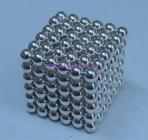 Quality 8MM Neocube Toy-Siliver Colour wholesale