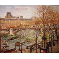 Cheap Impressionist(3830) The_Pont_du_Carrousel,_Afternoon for sale
