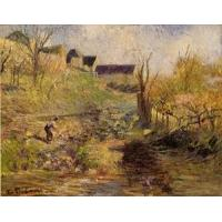 Cheap Impressionist(3830) Landscape_at_Osny for sale