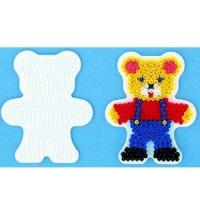 Cheap DIY BEADS SET Home Midi Hama Bead Teddy Bear Pegboard for sale